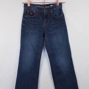 Guess Kids Sz 10 Cliff Relaxed Bootcut Jeans